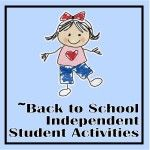 Great independent work for back to school!  What a great idea to give the kids meaningful work while the teacher is completing assessments one-on-one.