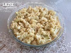 Fırında Karnabahar - Leziz Yemeklerim Snack Recipes, Snacks, Pasta, Food, Snack Mix Recipes, Appetizer Recipes, Meal, Eten, Meals