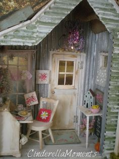 Time for a little distraction! I made another tiny hiding place. You know that type of little shed you could run off to and write, create or...