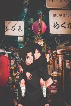 Itachi x Sasuke , an art print by kylokun - INPRNT Naruto Shippuden Sasuke, Naruto Kakashi, Naruto Sasuke Sakura, Naruto Cute, Minato Kushina, Naruto And Sasuke Wallpaper, Wallpapers Naruto, Cool Anime Wallpapers, Wallpaper Naruto Shippuden