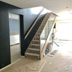 ...And voila!! We have a stairway @hagen_as #stryntrappa #stryntrappafoss  #foss #stairway #newhouse #design #modernhome #modernhouse #interior #interior4all #interiordesign #inspiration #scandinaviandesign #nordicdesign #interiorstyling #interiormagasinet #designinterior #finehjem #scandinavianhome #scandinviandesign #follandinspo #interior123 #mynordicroom #scandinavianhome #nordicdesign #homedecor #homedesign