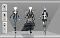 Adoptable Outfit Auction 28-30(closed) by LaminaNati.deviantart.com on @DeviantArt