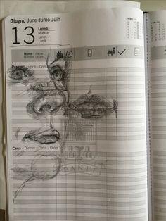 Studie Mondays, June, Sketches, Calendar, To Draw