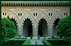 Stunning  The Aljafería Palace ::Islamic Arts and Architecture
