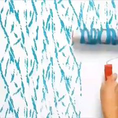 Tag your friend - - Paint Diy ! Tag your friend. Creative Wall Painting, Wall Painting Decor, Diy Painting, Wall Decor, Decorative Wall Paintings, Diy Wand, Diy Crafts Hacks, Diy Home Crafts, 5 Minute Crafts Videos