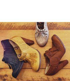 Shoes - Tassle/Heel Oxfords