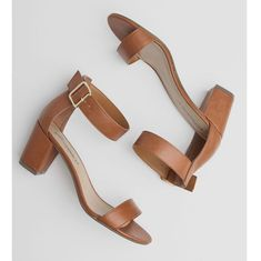 How about a low, chunky heel?
