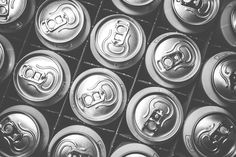 Pattern of Soda Drink Cans Free Stock Photo Download   picjumbo