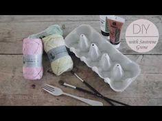 DIY - Ice cream cones on a string by Sostrene Grene.