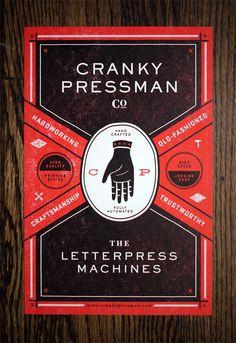 Cranky Pressman - Dan Blackman: Art Direction & Design