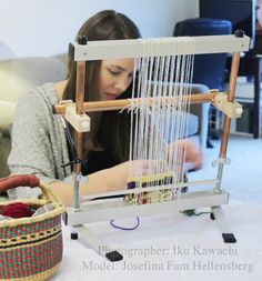 Mirrix Tapestry and Bead Looms: Portable, metal weaving looms.