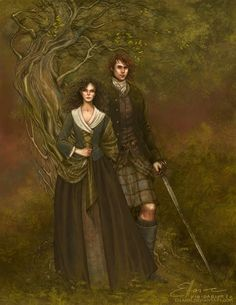 Outlander - Claire and Jamie Fraser