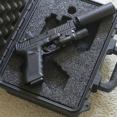 Everybody's so concentrated on the fire starters and the knives that they forget to think about what you'll use when the seasons change. Glock Guns, Weapons Guns, Guns And Ammo, Airsoft Gear, Tactical Gear, Tactical Survival, Survival Gear, Colt Python, Custom Guns
