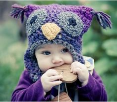 Woolly Owl Hat Plus a bunch of other free crochet patterns!