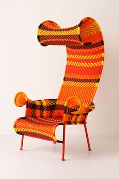 "Chair by Tord Boontje. (or...""chair from a Dr. Seuss book"")"