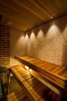 .: InPuit :. Sauna Design, Cabin Design, House Design, Home Spa Room, Spa Rooms, Sauna House, Sauna Room, Sauna Lights, Piscina Spa