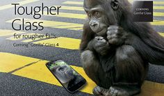 Interesante: Corning presenta Gorilla Glass 4
