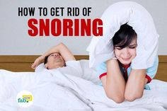 How to Stop Snoring with Home Remedies | Fab How #Sleepapnearemedies