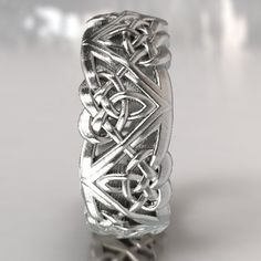 Heart Wedding Rings, Celtic Wedding Bands, Wedding Jewelry, Boho Wedding, Celtic Knot Ring, Celtic Rings, Celtic Knots, Celtic Triangle, Tiffany Jewelry