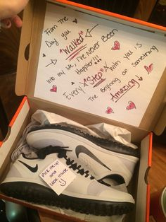 Gift idea for your guy: Loved up sneakers