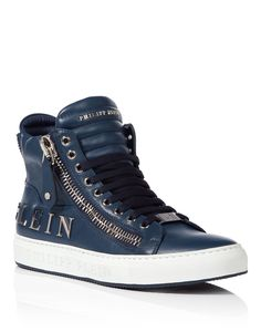 "PHILIPP PLEIN HIGH SNEAKERS ""VIBES"". #philippplein #shoes #"