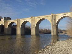 Saint-Nicolas-de-Campagnac Bridge - Sainte-Anastasie - Gard - France - c.1260