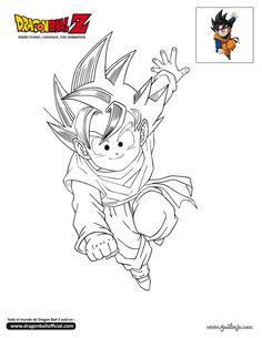 Dibujos De Dragon Ball Af Para Colorear E Imprimir | Pintar imágenes