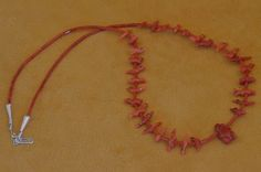 Zuni Fetish necklace made by Dinah Gasper.