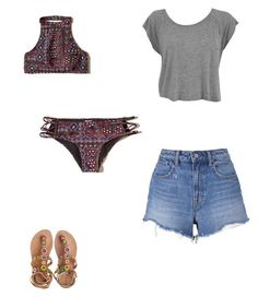 """Untitled #346"" by austynh on Polyvore featuring Hollister Co., Laidback London and T By Alexander Wang"
