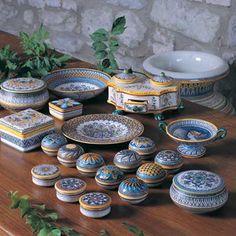 Deruta Ceramics Italy Majolica Pottery