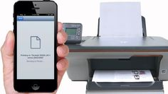 Printing through iPhone and iPad