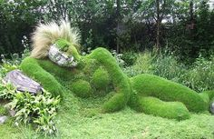 lost garden ~ very creative.