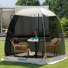 Screen House Outdoor Pop Up Canopy Tent Patented – Alvantor Screen Tent, Screen House, Pop Up Canopy Tent, Canopy Outdoor, Tent Camping, Outdoor Camping, Pop Up Screens, Instant Tent, Air Ventilation