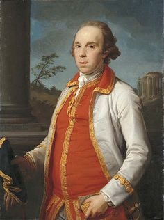 Batoni, Pompeo (1708-1787) - 1770 Portrait of Robert Udny (Christie's London, 2006), for more of Jacques louis David oil paintings, please visit http://www.painting-in-oil.com/artworks-David-Jacques-louis.html