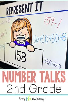 Your Second Grade Students Are Guaranteed To Love These Engaging Math Talk Activities. These Common Core Aligned Math Problems Are Highly Engaging, Fun, And Are The Perfect Way To Get Your Classroom Happily Talking About Math. Snatch Your Set Today First Grade Lessons, Second Grade Teacher, First Grade Math, Math Lessons, Grade 2, Teaching Second Grade, Third Grade, Math Fact Practice, Math Talk