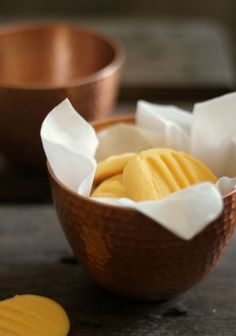 Custard Cookies - quick and easy recipe - nowaddsugar I have never heard of custard powder, but these sound amazing!!