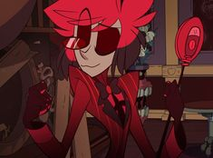 Alastor x reader fics and hc's, along with just some oneshots and hcs about him in general. Mostly fluff, all warnings will be listed at the beginning of each. Character Art, Character Design, Fangirl, Alastor Hazbin Hotel, H Hotel, Hotel Trivago, Vivziepop Hazbin Hotel, Arte Horror, Reaction Pictures