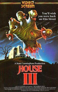 The Horror Show aka House III (1989) VHS cover art