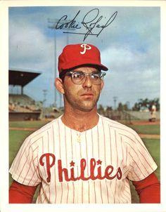 "Octavio Victor ""Cookie"" Rojas (Rivas) went on to become a Major League manager. Major League Baseball Teams, Mlb Teams, Baseball Players, Baseball Cards, Philadelphia Baseball, Cubs Team, Phillies Baseball, American Sports, Trading Card Database"