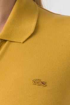 #Lacoste Short Sleeve #Vintage Wash Pique #Polo