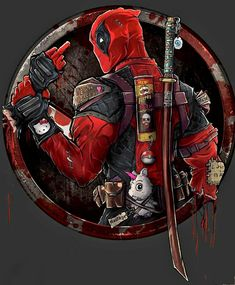 Deadpool, Dmytro Rudenko on ArtStation at… Art Deadpool, Deadpool Photos, Deadpool Gifts, Deadpool Tacos, Marvel Vs, Marvel Dc Comics, Marvel Heroes, Comic Kunst, Comic Art