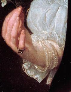 Portrait of a woman by Abraham Lambertz van den Tempel