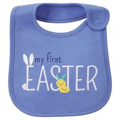 Just One You™Made by Carter's® My First Easter Bib Blue