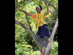 Climb a tree with your children.