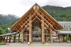 ニッキ   monomog Timber Architecture, Japan Architecture, Timber Buildings, Tropical Architecture, Modern Buildings, Architecture Design, Bamboo Structure, Timber Structure, Bamboo House Design