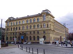 Vysoká škola uměleckoprůmyslová Praha Praha, Czech Republic, Louvre, Street View, Building, Travel, Viajes, Buildings, Destinations