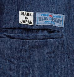 Blue Blue Japan - Herringbone Linen Suit Jacket | MR PORTER