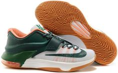 detailed look e84cb 97433 Nike KD VII 7 Yellow Green White Orange Cheap Nike Running Shoes, Buy Nike  Shoes