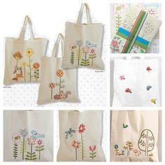 Découvrez nos kits Tote Bag à customiser