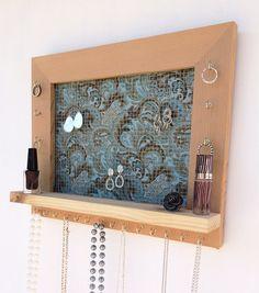 Jewelry Organizer Barn Wood by DivaDisplay on Etsy studio ideas